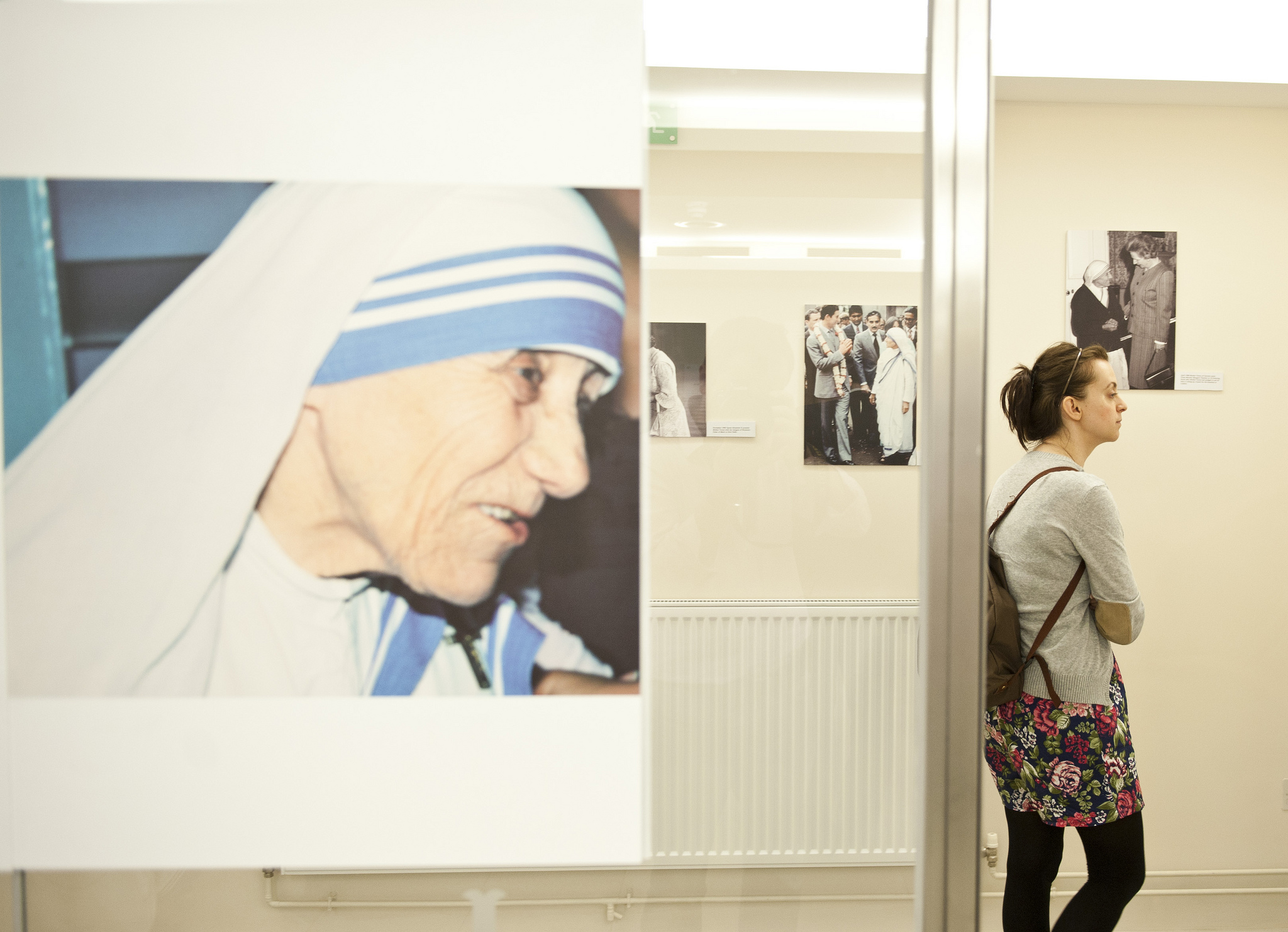 An exhibit on Mother Teresa in the UK / Catholic Church England and Wales / Flickr