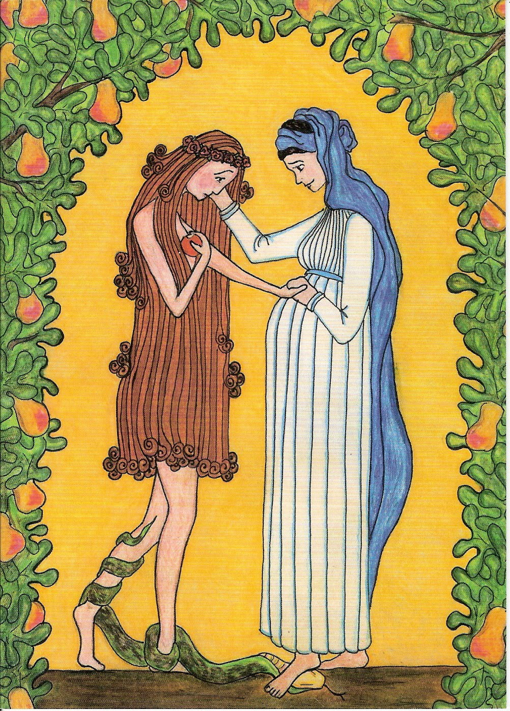 Eve and Mary by Sr. Grace Remington, O.C.S.O
