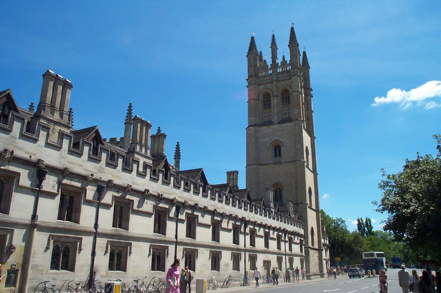 MagdalenCollege at Oxford, where Lewis taught for 30 years / Wikimedia Commons