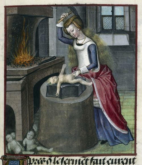 Nature forging a baby / via medievalages.net