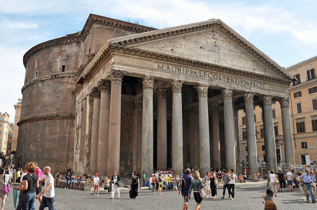The Pantheon in Rome: originally a pagan temple, now a church. / Doug, Flickr