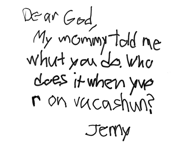 22 Super Cute Letters from Kids to God | ChurchPOP