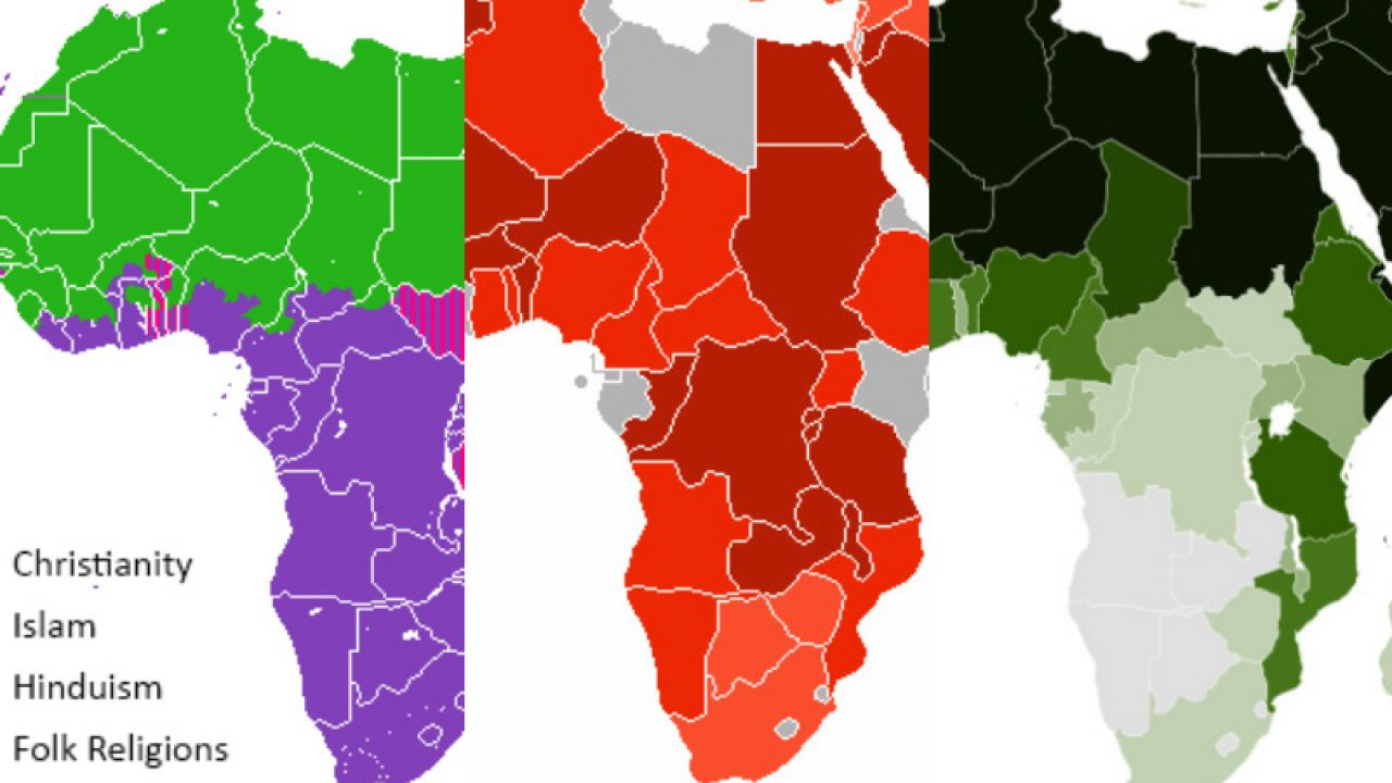 12 Hopeful Maps Graphs Of Religion In Africa