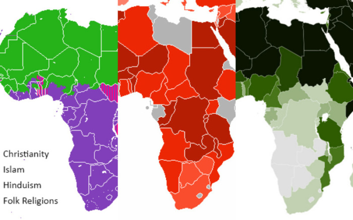 Africa Religion Map 12 Hopeful Maps & Graphs of Religion in Africa |