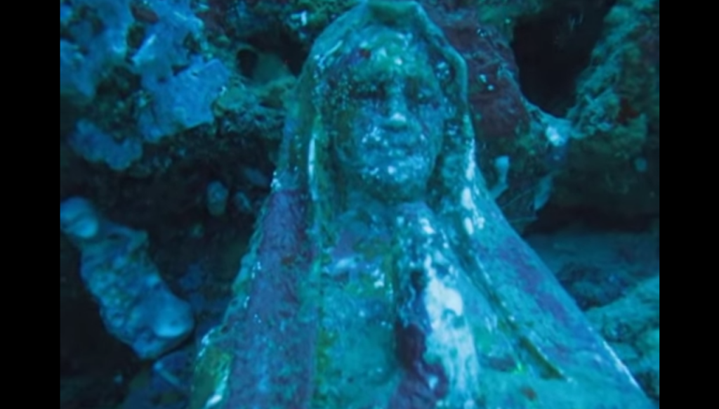5 Hidden Underwater Christian Statues of the Deep