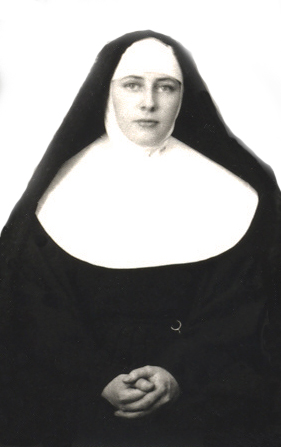 My aunt Anastasia, as Sister St. Michael / Richard G. Evans